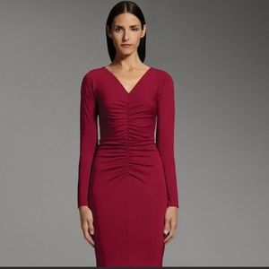 Narcisco Rodriguez sexy red dress